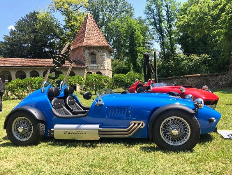 Actu - Rassemblement Prestige Car au Domaine de St Jean de Chépy - Devalliet Manufacture Française d'Automobiles